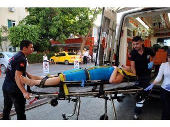 Otomobilin Çarptığı İsveçli Kadın Yaralandı