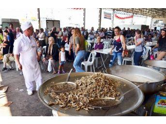 Av Yasağının Kalkmasına Balık Ekmekli Kutlama