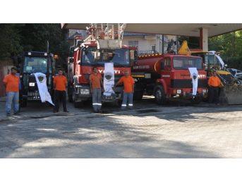 Sason Belediyesi Filosuna 5 Araç Daha Ekledi