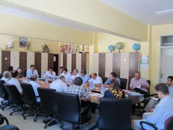 Bayburt'ta Orta Öğretim Müdürleri Toplantısı Yapıldı