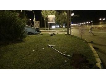 Diyarbakır'da Trafik Kazası:1'i Ağır 2 Yaralı