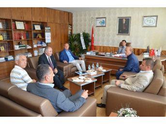 Başkan Keleş'ten İade-i Ziyaret