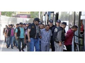 Gaziantep'te Pkk Operasyonuna 12 Tutuklama