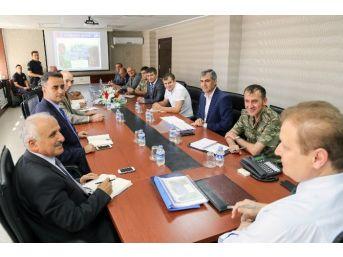 Gümüşhane'de Spor Güvenlik Toplantısı Yapıldı