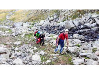 Verçenik'te Ki Zafer Tırmanışına Kar Ve Sis Engeli