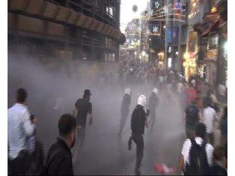 - Taksim'de Göstericilere Müdahale: Çok Sayıda Gözaltı Var