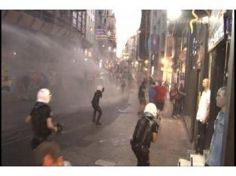 Taksim'de Göstericilere Müdahale... (1)