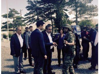 Milletvekili Uçum'dan Saldırıya Uğrayan Karakola Ziyaret