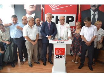 Chp Eski İl Başkanı Sümer Erol Milletvekili Aday Adayı Oldu