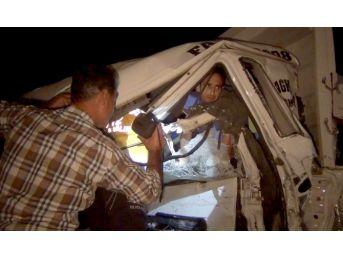 Ereğli'de Zincirleme Kaza: İki Yaralı