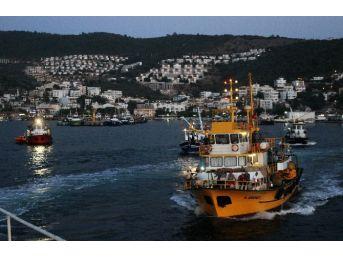 Muğla'da Balıkçılar 'vira Bismillah' Dedi