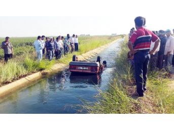 Şanlıurfa'Da Otomobil Sulama Kanalına Devrildi: 1 Ölü, 1 Yar...