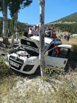 Turhal'da Kaza: 1 Yaralı