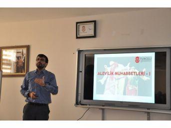 Tunceli'de Alevilik Muhabbetleri Etkinliği Düzenlenecek