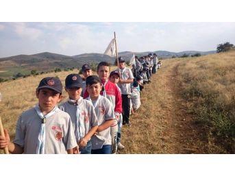 İzciler 5 Günlük Kamp Düzenlendi
