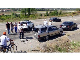 Çaycuma'da Trafik Kazası: 5 Yaralı