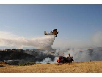 Anız Yangınları Ormanları Tehdit Ediyor