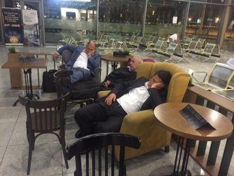 Borajet Rötar Yaptı, Adana Ekibi Varna Havaalanında Sabahladı