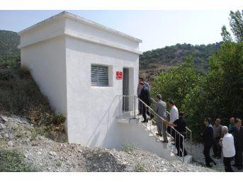 Amasya'nın Köylerindeki Su Depoları Yenileniyor