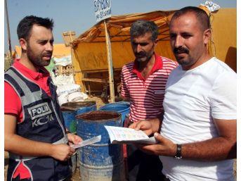 """Mali Polisten Hayvan Pazarında Satıcılara """"sahte Para"""" Uyarısı"""