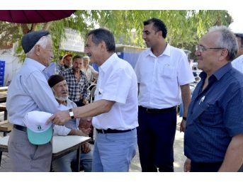 Başkan Ataç'ın Mihalgazi Ziyareti