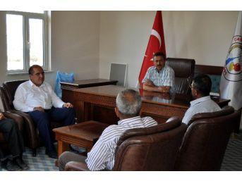 """Başkan Tutal, """"mahalle Halkımızın Yanındayız"""""""