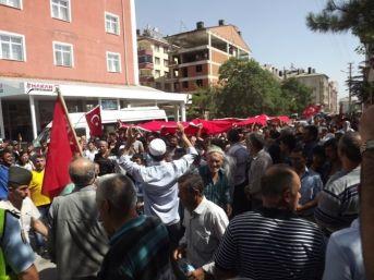 Konya'da Akkiseliler Gönüllü Asker Olmak İstedi