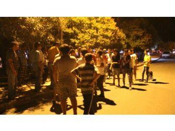 Mut'ta Teröre Lanet Protestosu Yaptı