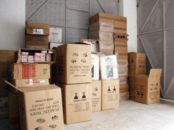 Kamyonda Gümrük Kaçağı 38 Bin 440 Paket Sigara Çıktı