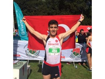 Karamanlı Milli Atlet Dağ Krosu'nda Dünya 3.'sü Oldu