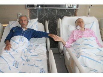 46 Yıllık Evli Çift Peş Peşe Bypass Oldu
