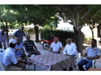 Başkan Tutal, Kesecik'te Vatandaşlarla Buluştu