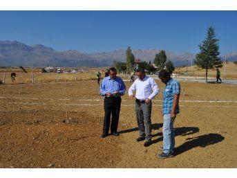 Seydişehir Belediyesi'nden Saadetler'e Çok Amaçlı Park