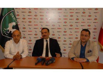 Denizlispor'da Yönetimden Altıparmak'a Tam Destek