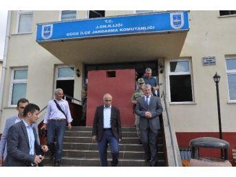 Giresun Valisi Hasan Karahan Saldırı Bölgesinde