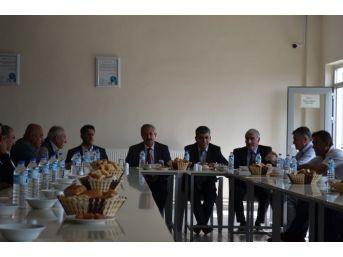 Başkan Gürsoy Ak Partilileri Bir Araya Getirdi