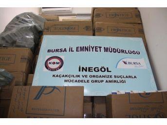 Abla-kardeş 30 Bin Paket Kaçak Sigara İle Yakalandı
