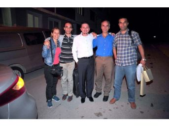 Irak'ta Kaçırılan Türk İşçilerden Ender Gündoğan Bursa'daki Evine Döndü
