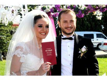 Dto Başkanı Özer'in Yeğeni Evlendi