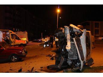Erzurum'da Zincirleme Kaza: 7 Yaralı