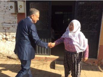 Başkan Mahmut Badem, Kaymakçı'da Sel Mağdurlarını Ziyaret Etti