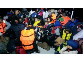 On Günde 3 Bin 537 Sığınmacı Ölümden Kurtarıldı
