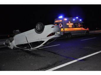 Seydişehir'de Otomobil Takla Attı: İki Yaralı