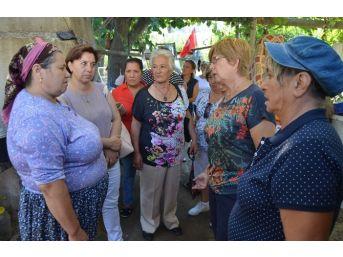 Chp Bodrum'un Kadınları Destek İçin Yollarda