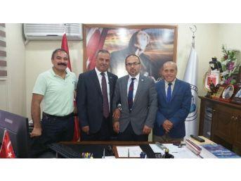Avrupa - Zonguldaklılar Derneği Başkanı Karakulak'tan İnam'a Ziyaret