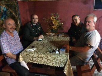 Çaycuma İlçe Jandarmadan Gazi Ve Şehit Ailelerine Ziyaret