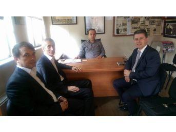 Zondef Başkanı Gurbet Altay, Kgd'yi Ziyaret Etti
