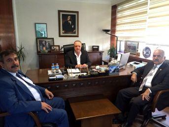 Adana Esob Yönetimi, Palandöken'i Ziyaret Etti