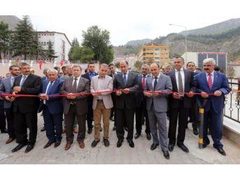 Amasya'da 200 Araçlık Otopark Açıldı