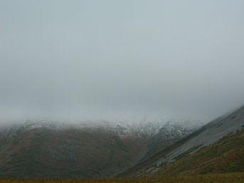 Posof Dağlarına Mevsimin İlk Karı Yağdı